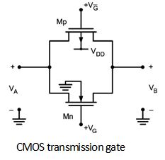 transmission gate pass transistor logic digital cmos design rh electronics tutorial net