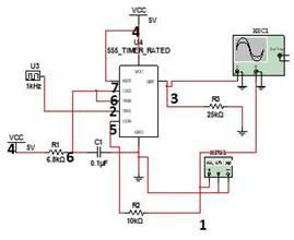 Generation-of-PWM-using-555-timer-IC | Mini Projects | Electronics
