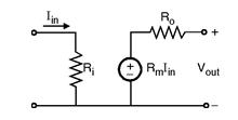 Transresistance Amplifier