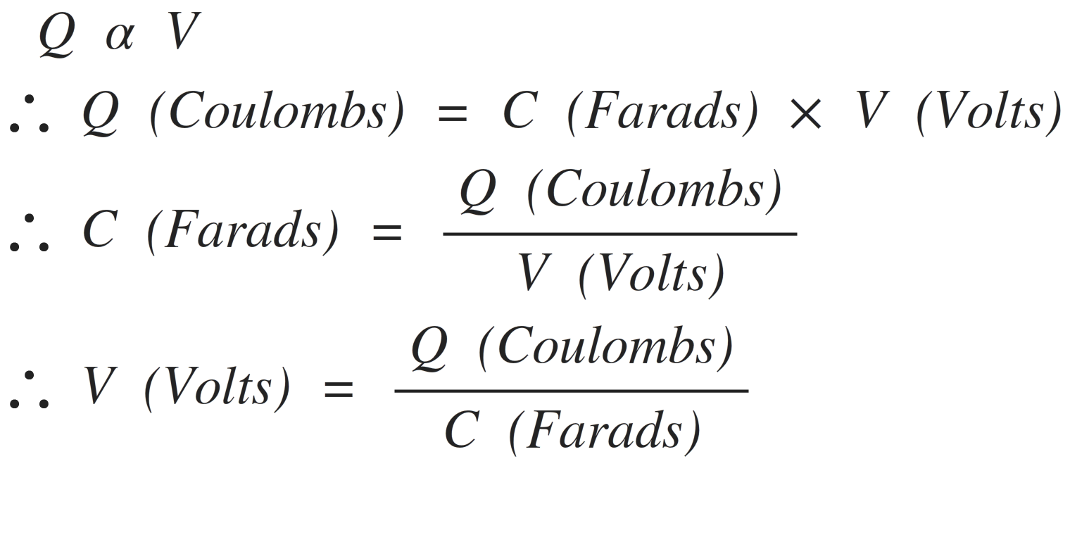 Capacitor Charge Equations Electronics Tutorial Pipo Shift Register Circuits Sequential Logic Cap16