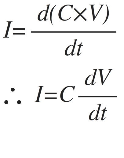 capacitor charge equations