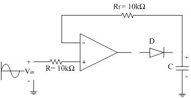 peak detector analog integrated circuits electronics tutorial rh electronics tutorial net Peak Valley Detector Circuit Peak Detector Circuit CMOS