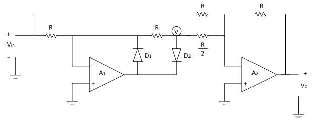 precision full wave rectifier