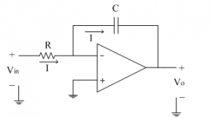 Basic Integrator Circuit on integrator circuit output wave