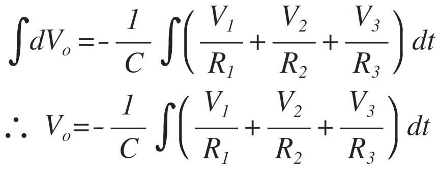 summing integrator