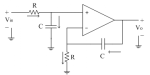 Index on integrator amplifier circuit diagram