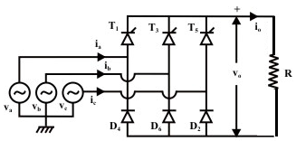 three-phase-half-controlled-rectifier| AC-DC Power