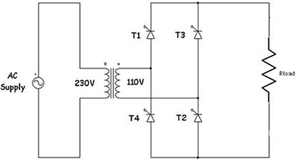 Single phase full wave controlled rectifier electronics tutorial the single phase fully controlled rectifier allows conversion of single phase ac into dc normally this is used in various applications such as battery swarovskicordoba Gallery