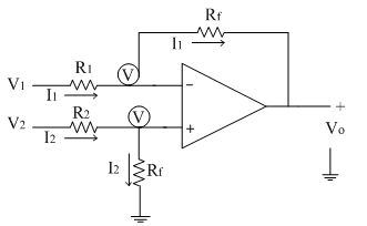 subtractor difference amplifier electronics tutorial rh electronics tutorial net